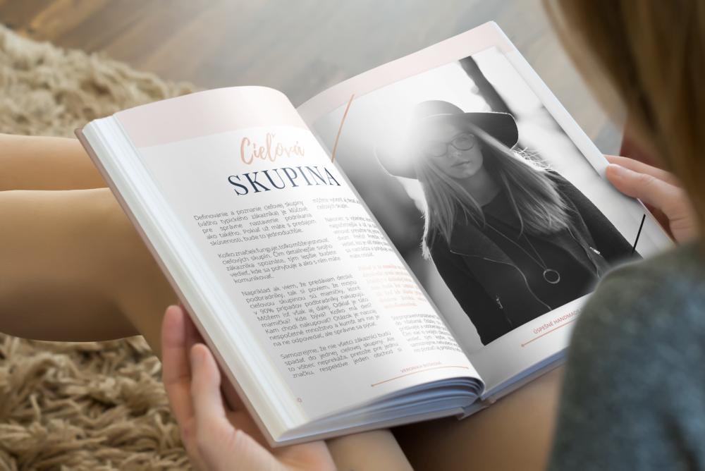 Kniha o podnikaní v handmade sfére